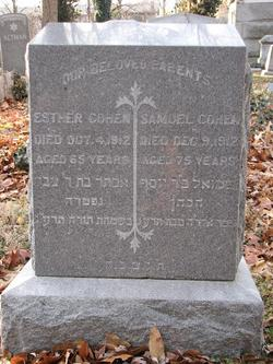 Esther <i>Hershkovitz</i> Cohen