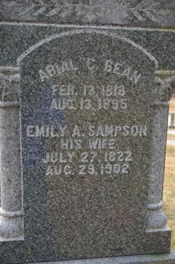 Emily A <i>Sampson</i> Bean