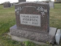 Sarah <i>Lehne</i> Anderson