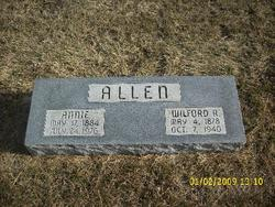 Mary Annie <i>Dilsaver</i> Allen