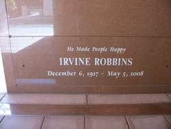 Irv Robbins