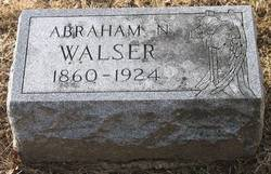 Abraham Norfleet Walser