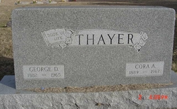 Cora Alberta <i>Cubbon</i> Thayer