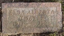 Elda Alberta Thayer