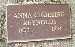 Anna <i>Gruesing</i> Reynolds