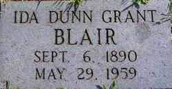 Ida Dunn <i>Grant</i> Blair