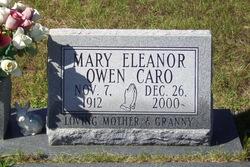 Mary Eleanor <i>Owen</i> Caro