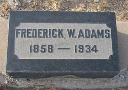 Frederick William Fred Adams