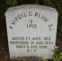 Fr Virgil Clarence Blum
