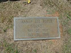 Annah Lee <i>Roper</i> O'Daniel
