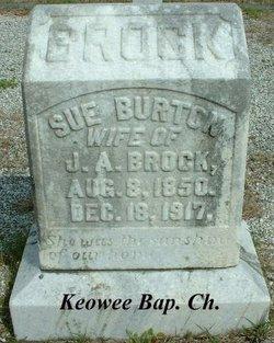 Sue <i>Burton</i> Brock