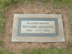 Benjamin Abrahams