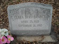 Clara <i>Byrd</i> Branch