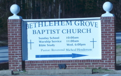 Bethlehem Grove Baptist Church Cemetery