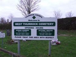 West Thurrock Cemetery