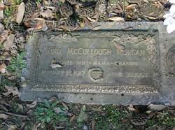 Ruby <i>McCullough</i> Morgan