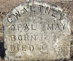 Opal May <i>Hearst</i> Gwaltney