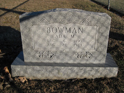 Ada M Bowman