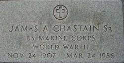 James Alvis Curley Chastain, Sr