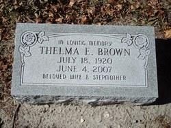 Thelma E. Brown