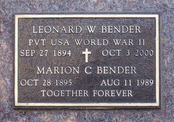Leonard William Bender