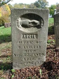 Abgail <i>Baker</i> LeClear