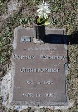 Gordon Woodrow Christopher