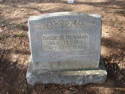 Birdie <i>Bonds</i> Newman