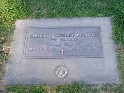 Pvt Charles Wesley Brooks