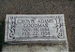 Grovie <i>Adams</i> Goodman