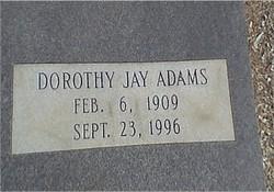 Dorothy <i>Jay</i> Adams