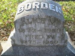 Alice Maria <i>Watrous</i> Borden