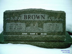 Afton <i>Harris</i> Brown