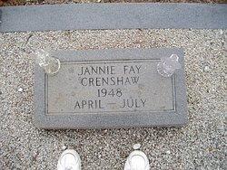 Jannie Fay Crenshaw