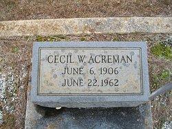 Cecil William Acreman