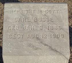 Carl Busse