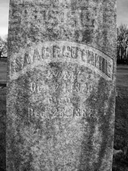 Isaac Frazier Guthrey (Guthrie)