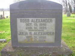 Julia Susan <i>Gary</i> Alexander