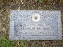 Ethel Helen <i>Hanger</i> Baldwin