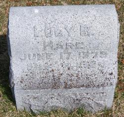 Lucy Belle <i>Huyck</i> Hare