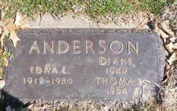 Edna Lenora <i>Tribbett</i> Anderson
