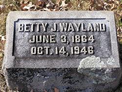 Betty J Wayland