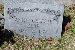Annie Celeste <i>Bornemann</i> Kerr