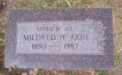 Bertha Mildred <i>White</i> Akin