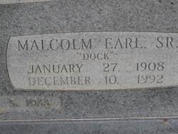 Malcom Earl Doc Hickman