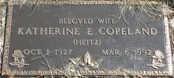 Katherine E <i>Heitz</i> Copeland