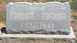 Sarah C. <i>Buckner</i> Barnett