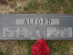 Claudia <i>Chandler</i> Alford