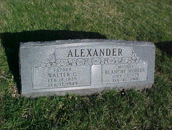 Blanche <i>Mohler</i> Alexander