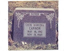 Cecil Marcena Cannon